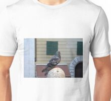 Pigeon in the city Unisex T-Shirt