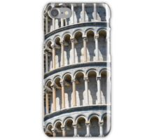 Detail of the leaning tower from Pisa iPhone Case/Skin