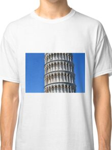 Detail of the leaning tower from Pisa Classic T-Shirt