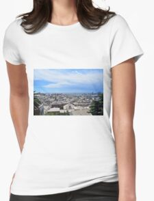 Aerial view of Genova Womens Fitted T-Shirt
