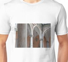 Detail of portico with arches and columns Unisex T-Shirt