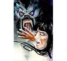 Werewolf Attacking  Photographic Print