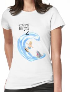 Ctrl + Z -  The Surfer Womens Fitted T-Shirt
