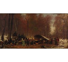 Eastman Johnson - A Different Sugaring Off Photographic Print