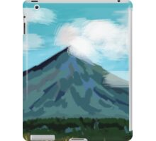 Mayon Volcano iPad Case/Skin