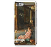 Sir John Lavery, R.A., R.H.A., R.S.A.  MARY BORDEN AND HER FAMILY AT BISHAM ABBEY iPhone Case/Skin