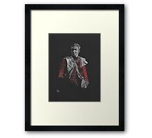 Watson in uniform Framed Print