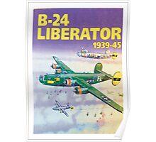 b-24 liberator poster Poster