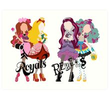 Royal or Rebel? Art Print