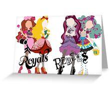 Royal or Rebel? Greeting Card