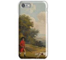 After George Stubbs, A.R.A. THE HUNT iPhone Case/Skin