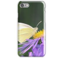 Small White Butterfly iPhone Case/Skin