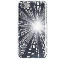 Abstract - High Speed Information Highway iPhone Case/Skin