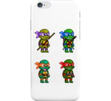 Teenage Mutant Ninja Turtles Pixels iPhone Case/Skin