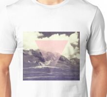 Triangle on Mountains Unisex T-Shirt
