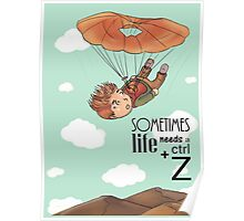 Ctrl + Z - The Skydiving Poster