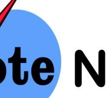 MAKE AMERICA GRATE AGAIN - VOTE NO PRE-SHREDDED CHEESE Sticker
