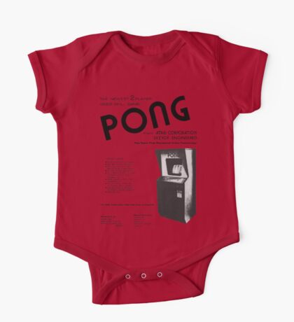 PONG One Piece - Short Sleeve