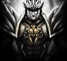Jarvan IV 4 - League of Legends by Waccala