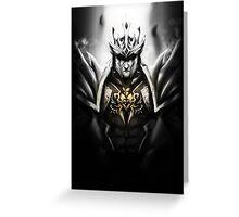 Jarvan IV 4 - League of Legends Greeting Card