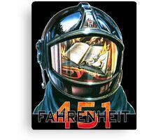 Fahrenheit 451 Fireman Canvas Print