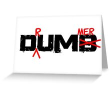 Drummer Dumb Funny Cool Shirt For Drummers Greeting Card