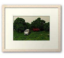 Cars Framed Print