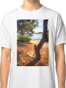 The tree and the cove  Classic T-Shirt