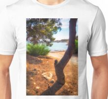 The tree and the cove  Unisex T-Shirt