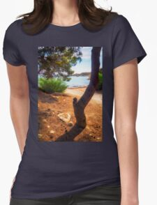 The tree and the cove  Womens Fitted T-Shirt