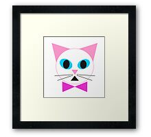 Kitty Girl Framed Print