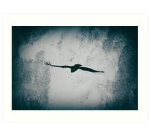 Flying into the Light Art Print