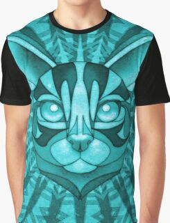 Minty Bengal Graphic T-Shirt