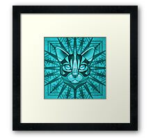 Minty Bengal Framed Print