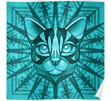 Minty Bengal Poster