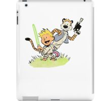 Calvin and Hobbes Star Wars iPad Case/Skin