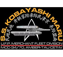 Star Trek - SS Kobayashu Maru Crest Photographic Print