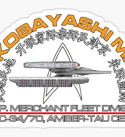 Star Trek - SS Kobayashu Maru Crest Sticker