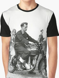 Girl on a bike Graphic T-Shirt
