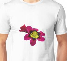 Harlequin with wisteria Unisex T-Shirt