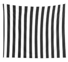 Black White Striped Pillow Cushion Cover Skirt Wall Tapestry
