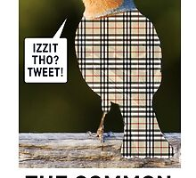 CHAV-FINCH GREETING CARD by mjfouldes