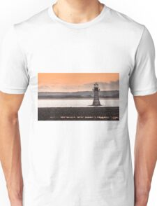 Whitford point lighthouse Wales Unisex T-Shirt