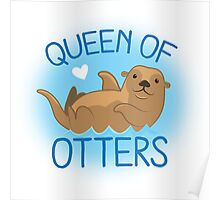 queen of otters Poster