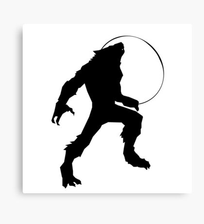 YOUNG WEREWOLF Canvas Print