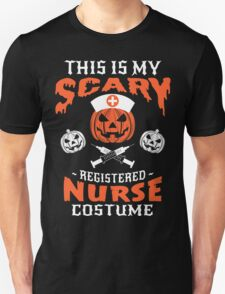 Scary Nurse Costume Unisex T-Shirt