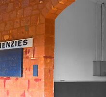 Menzies Railway Station by threewisefrogs