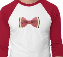 Bow Tie Men's Baseball ¾ T-Shirt