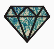 diamond pattern Kids Tee