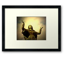 Please Hear Me Framed Print